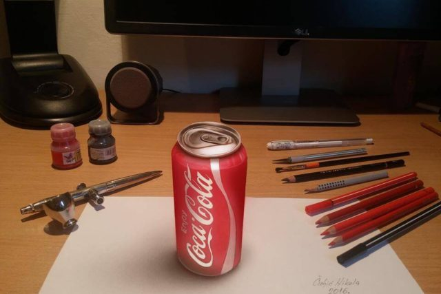 This Artist Uses 3D Realistic Drawings to Confuse His Friends