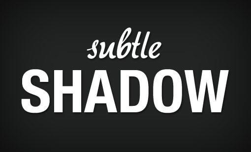 subtle-shadow