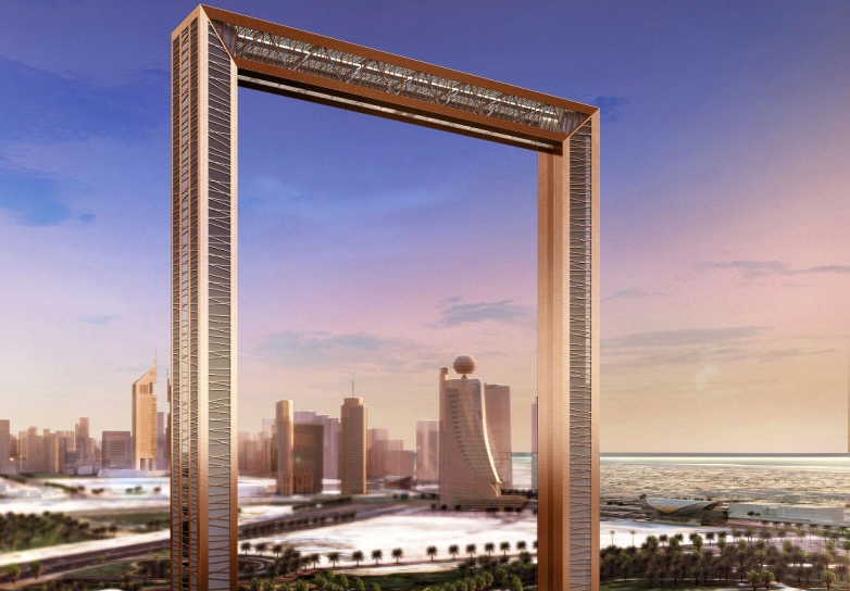 Dubai Frame: A city's journey through time